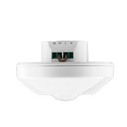 Détecteur de présence par technologie double, montage encastré ou en saillie au plafond